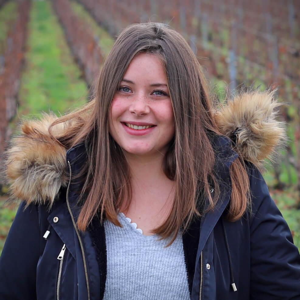 10-Julie BARIZET, alternante en licence agro-ressources.